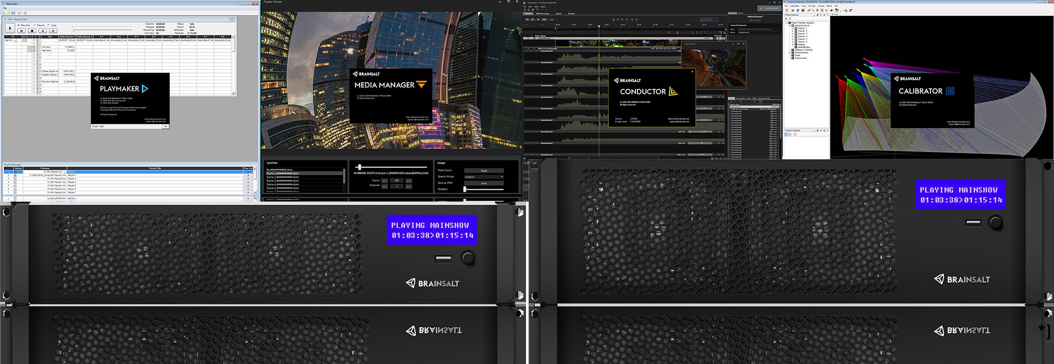 BRAINSALT - B6 Series Server